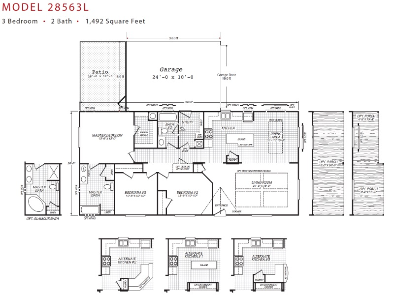 toliver 1340 floorplan - $269,000 - Toliver Estates 1340 Boardwalk Ave