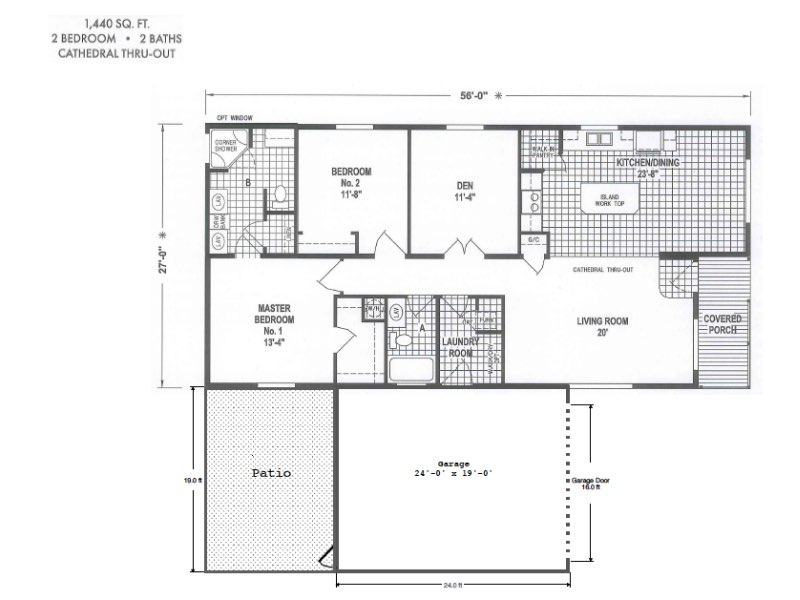 toliver 734 floor plan - $299,000 – Toliver Estates 734 St. James