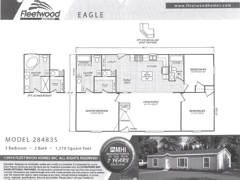 floorplan eagle - Mobile Home Lot